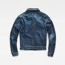 G-Star RAW® D-Staq 3D Deconstructed Jacket Medium blue flat back