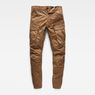 G-Star RAW® Rovic Zip 3D Tapered Pants Brown flat front