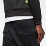 G-Star RAW® Motac-X Deconstructed Tapered Cargo Pants Black model back zoom