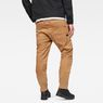 G-Star RAW® Motac-X Deconstructed 3D Slim Pants Brown model