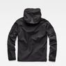 G-Star RAW® Rackam Anorak Hooded Overshirt Black flat back