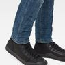 G-Star RAW® 3301 Deconstructed Skinny Jeans Mittelblau