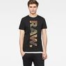 G-Star RAW® Daba T-Shirt Black model front