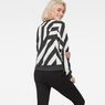 G-Star RAW® Dzzc Cropped Sweater Black model back