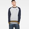 G-Star RAW® Malizo Sweat Grey model front