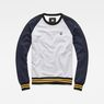 G-Star RAW® Malizo Sweat Grey flat front