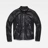 G-Star RAW® Motac-X GPL Biker Jacket Black flat front
