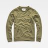 G-Star RAW® Core Hybrid Archive Sweater Green flat front