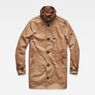 G-Star RAW® Garber Trench Brown flat front