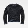G-Star RAW® Suzu Relaxed Cropped Sweater Dark blue flat front