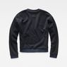 G-Star RAW® Suzu Relaxed Cropped Sweater Dark blue flat back