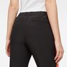 G-Star RAW® D-staq sp high-waist skinny pull on Black model back zoom