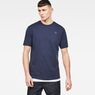 G-Star RAW® Raw Correct Korpaz Loose Long T-Shirt Dark blue model front