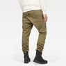 G-Star RAW® Air Defence zip 5620 3d slim pants Green model back