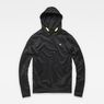 G-Star RAW® Carnix Slim Hooded Sweater Black flat front