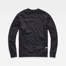 G-Star RAW® Obiter Stalt Deconstructed Sweater Black flat back