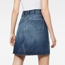 G-Star RAW® 5622 Custom A-Line Skirt Medium blue