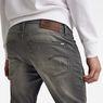 G-Star RAW® 3301 Slim 1/2-Length Shorts Grey front flat