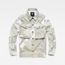G-Star RAW® Type C Army Overshirt Grey flat front