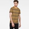 G-Star RAW® Makauri Stripe-5 T-Shirt Yellow model front