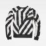 G-Star RAW® Dzzc Cropped Sweater Black flat back