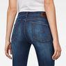 G-Star RAW® 3301 Deconstructed Mid-Waist Skinny Jeans Dunkelblau