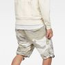 G-Star RAW® Rovic Deconstructed Loose 1/2-Length Shorts Grey model back
