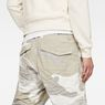 G-Star RAW® Rovic Deconstructed Loose 1/2-Length Shorts Grey model back zoom
