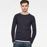 G-Star RAW® Core straight Knit Dark blue model front