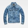 G-Star RAW® 3301 Slim Jacket Medium blue flat front