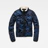 G-Star RAW® Alaska Padded Teddy Jacket Dark blue flat front