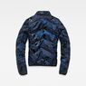 G-Star RAW® Alaska Padded Teddy Jacket Dark blue flat back