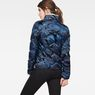 G-Star RAW® Alaska Padded Teddy Jacket Dark blue model back