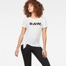 G-Star RAW® Rovi Knotted T-Shirt White model front