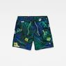 G-Star RAW® Dirik Patterned Swimshort Green front bust