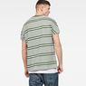 G-Star RAW® Collyde Stripe 5 T-Shirt Green model back