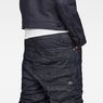 G-Star RAW® Raw Essentials Staq Parachute 3D Loose Cropped Pants Dark blue model back zoom