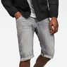 G-Star RAW® Arc 3D 1/2-Length Shorts Grey front flat