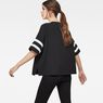 G-Star RAW® Hybrid Archive Zip sport top Schwarz
