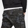 G-Star RAW® Rovic 3D Tapered Pants Grau model back zoom