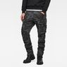 G-Star RAW® Rovic 3D Tapered Pants Grau model front