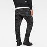 G-Star RAW® Rovic 3D Straight Tapered Pants Grey model back