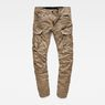 G-Star RAW® Rovic Zip 3D Tapered Cargo Pants Green flat front