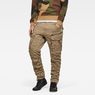 G-Star RAW® Rovic Zip 3D Tapered Cargo Pants Green model front