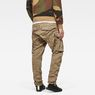 G-Star RAW® Rovic Zip 3D Tapered Cargo Pants Green model back