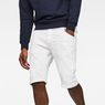 G-Star RAW® Arc 3D 1/2-Length Shorts White front flat