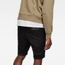 G-Star RAW® 3301 Slim 1/2-Length Shorts Black model