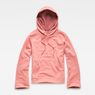 G-Star RAW® Spiraq Straight Hooded Sweater Pink flat front