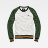 G-Star RAW® Malizo Sweat Green flat front