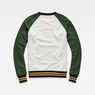 G-Star RAW® Malizo Sweat Green flat back